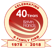 Kelvin Francis - Celebrating 40 years